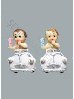 Arabada 1 Yaş Bebek Biblo