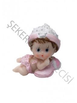 Şapkalı Ayıcıklı Bebek Biblo