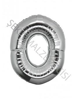 Harf Folyo Balon O 40 Inc Gümüş