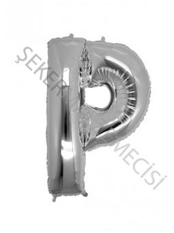 Harf Folyo Balon P 40 Inc Gümüş