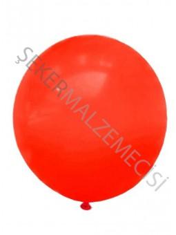 Büyük Boy Baskısız Balon Kırmızı