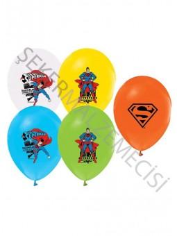 Superman Baskılı Balon