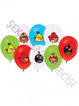 Angry Birds Baskılı Balon