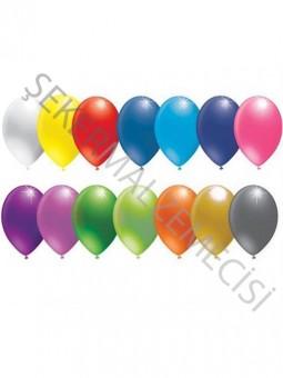 Armut Baskısız Balon Karışık 6 Inc