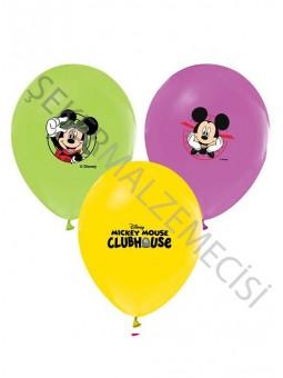Mickey Mouse Baskılı Balon