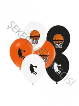 Balon Basketbol Baskılı 12 ınc