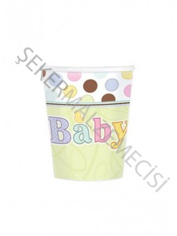 Baby Tiny Bundle Karton Bardak 8 oz