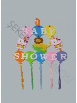 Kapı Süsü Baby Shower Keçe