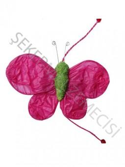 Kelebek Süs 5 li Fuşya