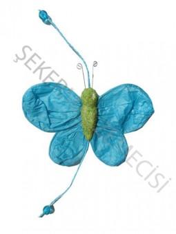 Kelebek Süs 5 li Mavi