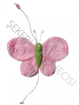 Kelebek Süs 5 li Pembe