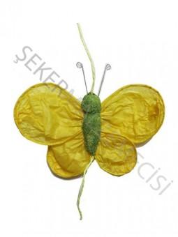Kelebek Süs 5 li Sarı