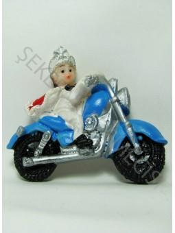 Motosiklette Sünnet Çocuğu Biblo