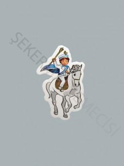 Atlı Sünnet Çocuğu Sticker