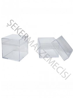 Kutu Kare Şeffaf 5 x 5 cm
