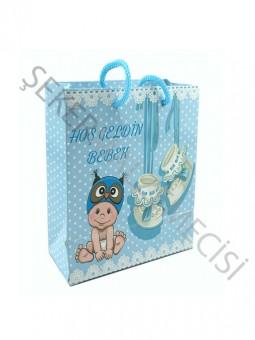 Çanta Hoşgeldin Bebek Mavi