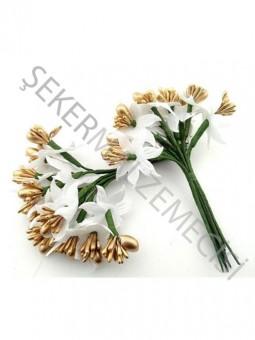 Çiçek Cipsolu ve Tomurcuklu Altın